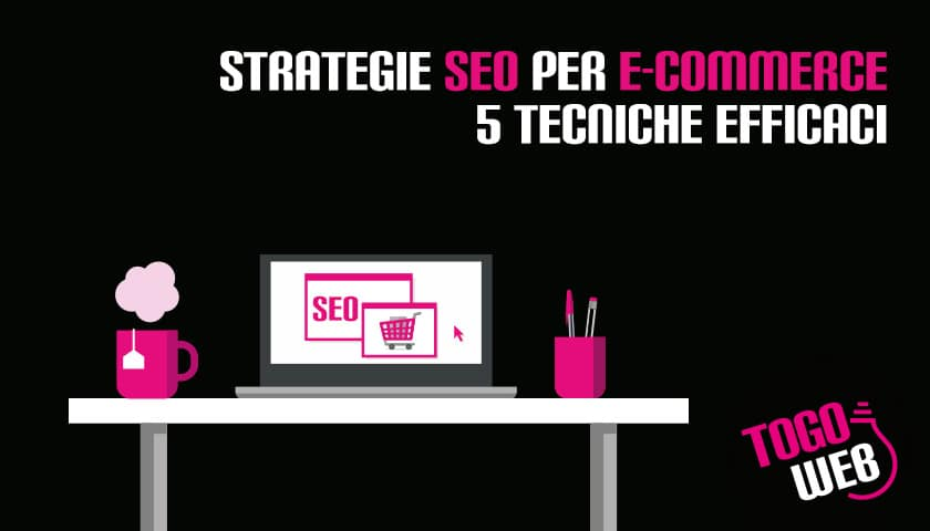 Strategie SEO ecommerce