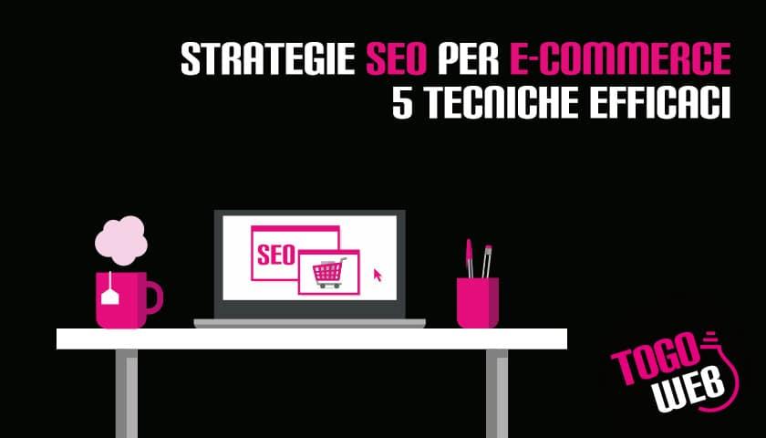 Strategie SEO ecommerce