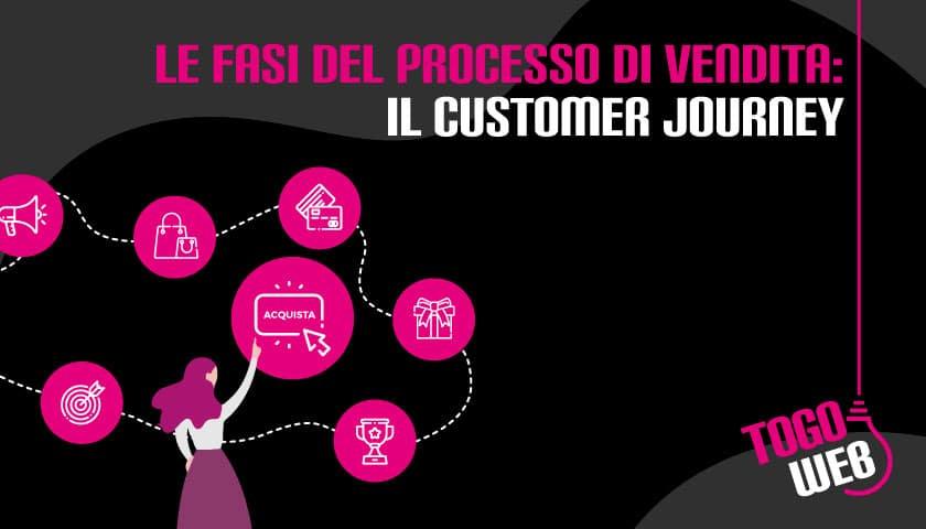 fasi processo vendita customer journey