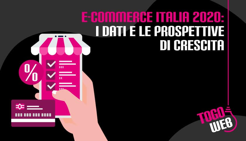 e-commerce italia dati prospettive crescita