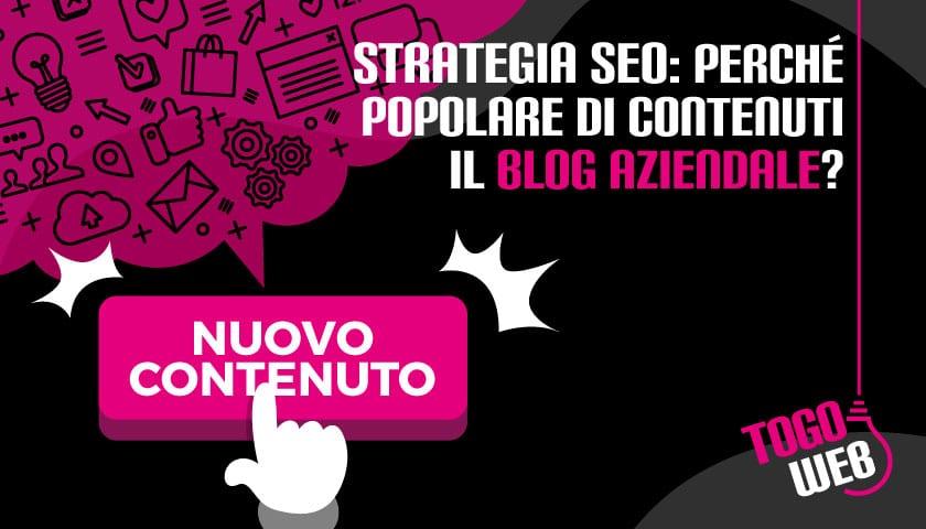 strategia seo contenuti blog aziendale